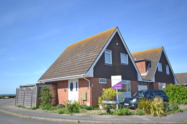 Thumbnail Detached house for sale in Solent Way, Selsey
