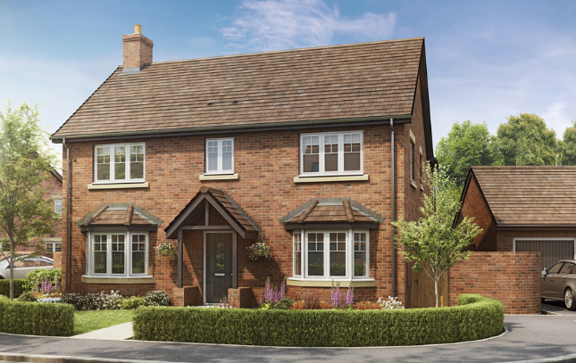 Thumbnail Detached house for sale in Newton Lane Newton, Rugby