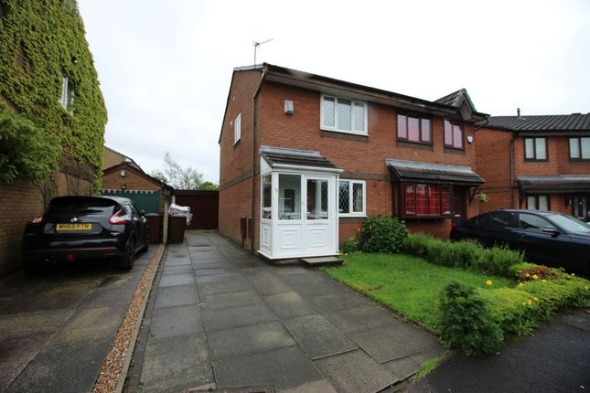 Thumbnail Semi-detached house to rent in Aldford Grove, Bradley Fold, Bolton