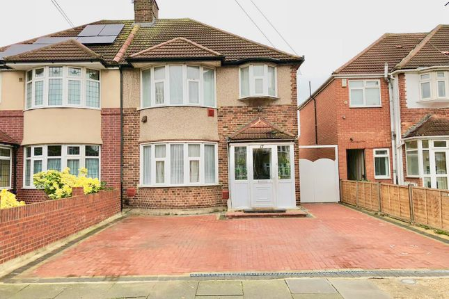 Thumbnail Semi-detached house for sale in Burns Way, Heston, Hounslow