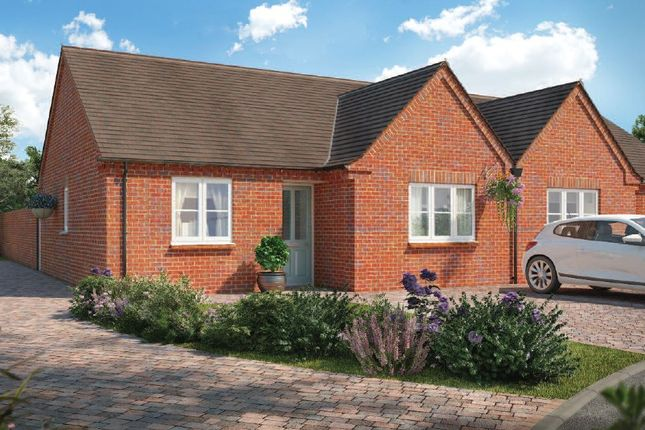 Thumbnail Terraced bungalow for sale in Chalfont Drive, Nottingham