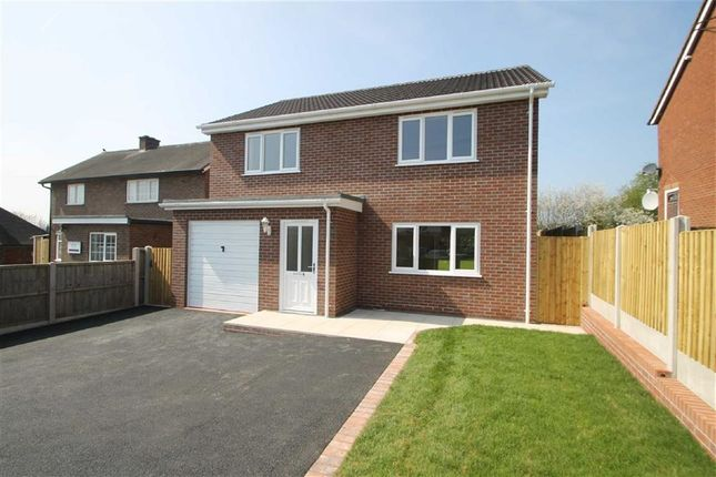 Thumbnail Detached house to rent in Caradoc View, Hanwood, Shrewsbury