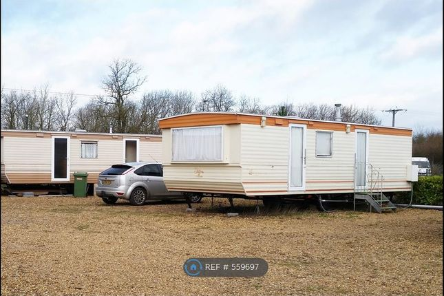 Thumbnail Mobile/park home to rent in Five Counties Caravan Park, Greetham