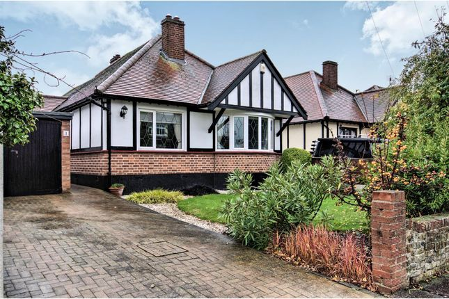 Thumbnail Detached bungalow for sale in Beeleigh Close, Southend-On-Sea