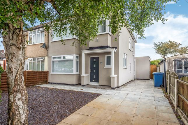 Thumbnail Semi-detached house for sale in Fairholme Close, West Derby, Liverpool