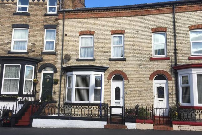 Thumbnail Terraced house for sale in Tindall Street, Scarborough