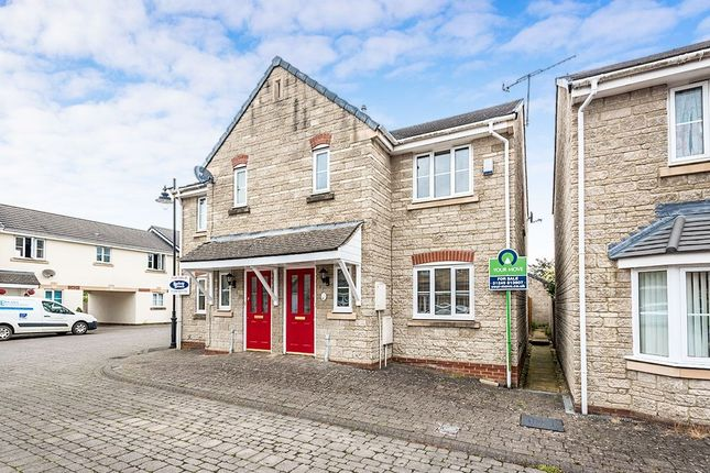 Thumbnail Semi-detached house for sale in Newbury Avenue, Calne