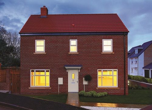 Thumbnail Detached house for sale in Off Prince Charles Avenue, Mackworth, Derbyshire
