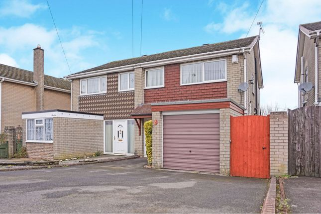 Thumbnail Semi-detached house for sale in Thornleigh, Lower Gornal