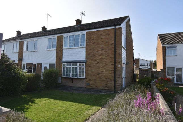 Thumbnail Terraced house for sale in Westward Deals, Kedington, Haverhill