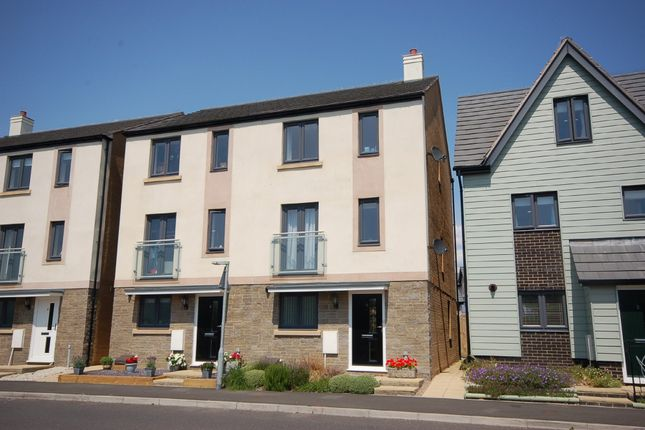 Thumbnail Town house for sale in Swan Road, Seaton