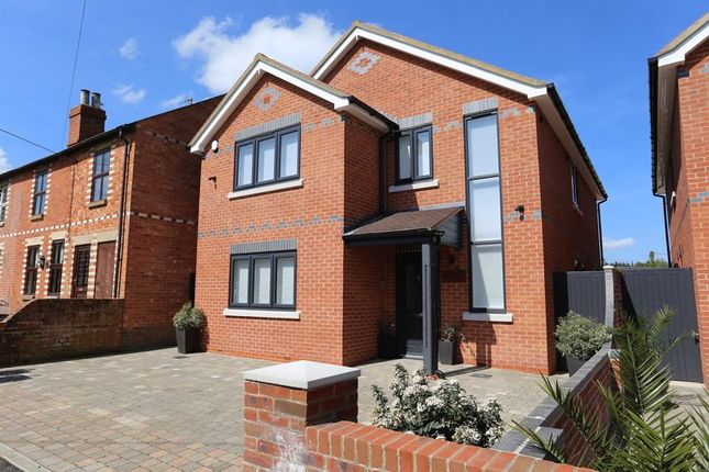 Thumbnail Detached house for sale in Norton Road, Riseley, Reading