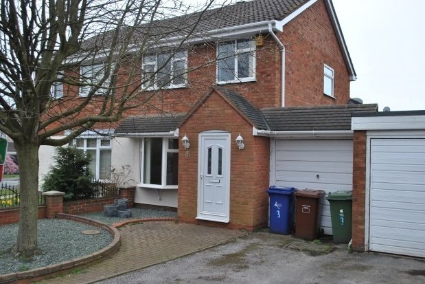 Thumbnail Property to rent in Harebell Close, Heath Hayes, Cannock