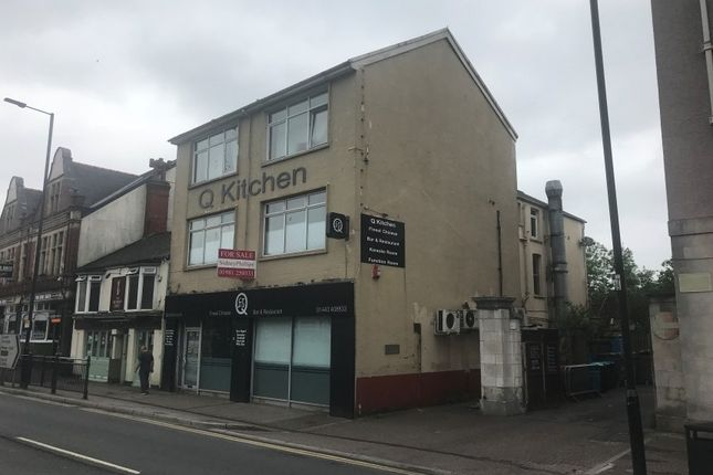 Thumbnail Restaurant/cafe for sale in 2-3 Broadway, Pontypridd, Rhondda Cynon Taff