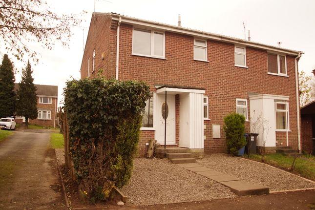 Thumbnail Town house to rent in Alder Close, Oakwood Derby