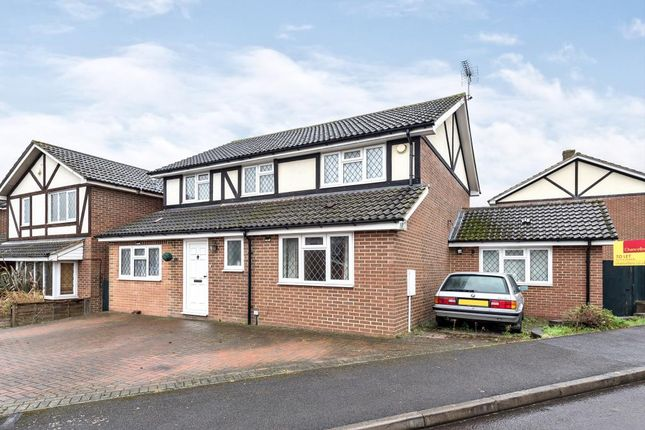 Thumbnail Detached house to rent in Farley Copse, Binfield