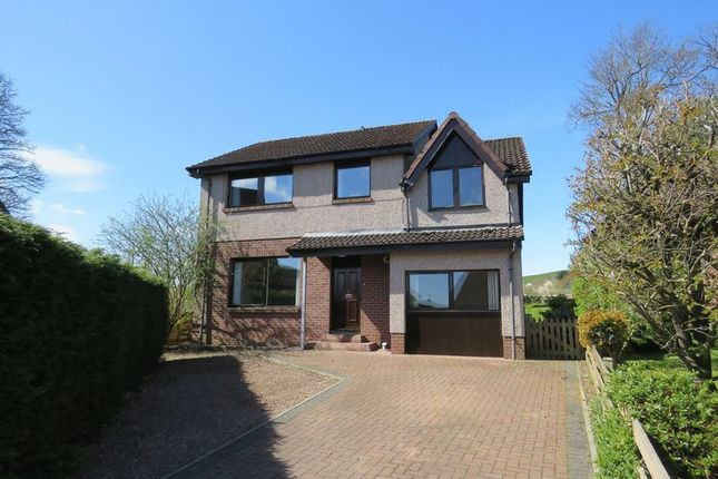 Thumbnail Detached house for sale in Abbotsview Court, Galashiels