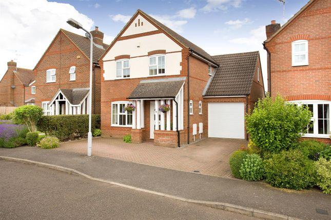 Thumbnail Detached house for sale in Church Farm Close, Bierton, Aylesbury