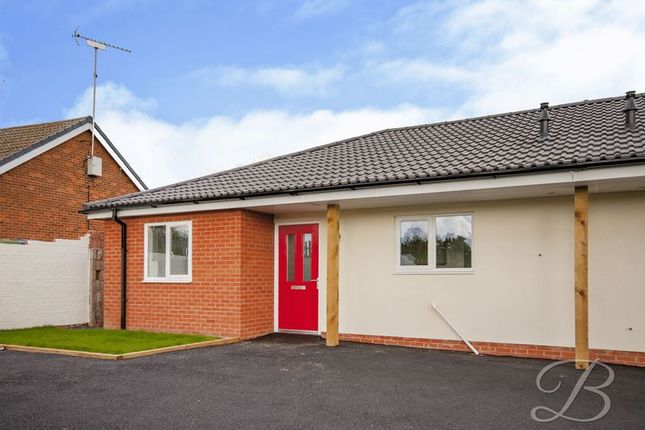 Thumbnail Bungalow for sale in Keyworth Close, Mansfield