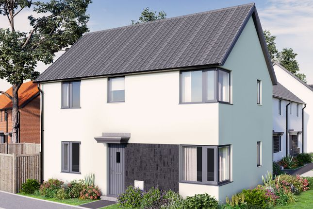 """Thumbnail Terraced house for sale in """"The Mountford"""" at Tillhouse Road, Cranbrook, Exeter"""