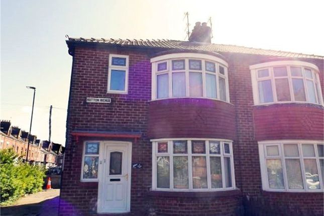 Thumbnail Semi-detached house for sale in Hutton Avenue, Hartlepool, Durham