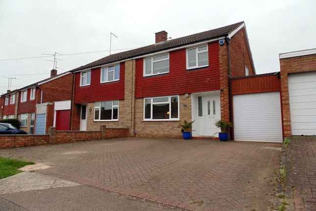 Thumbnail Semi-detached house for sale in Firsview Drive, Northampton