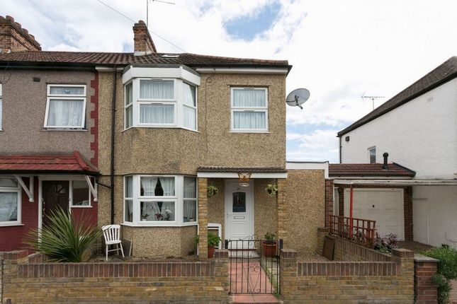Thumbnail End terrace house for sale in Exeter Road, London