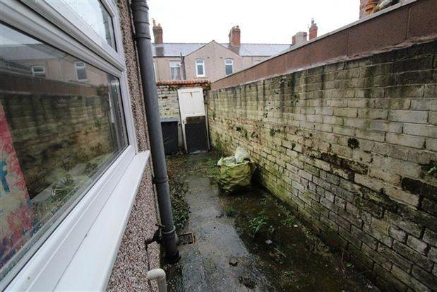 Rear Yard of Derry Street, Barrow In Furness LA14