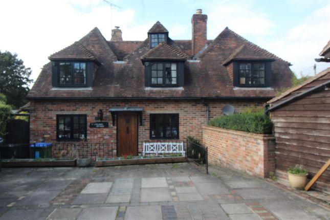 Thumbnail Semi-detached house to rent in High Street, Kemsing, Sevenoaks