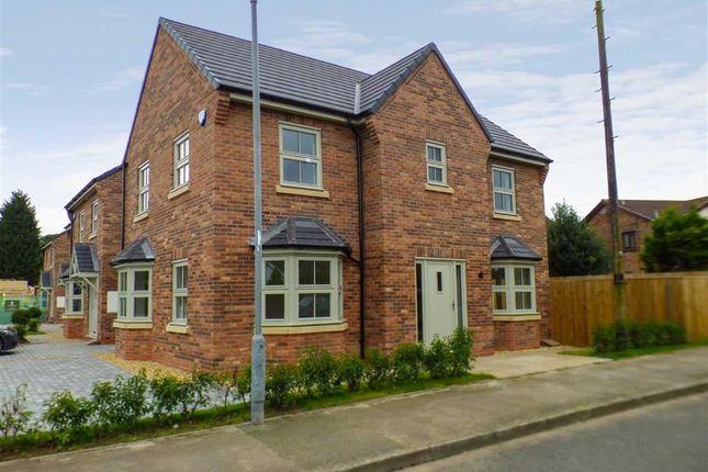 Thumbnail Semi Detached House For Sale In Vicarage Lane Elworth Sandbach
