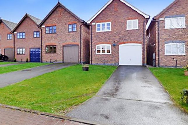 Thumbnail Detached house to rent in Radford Meadow, Castle Donington, Derby