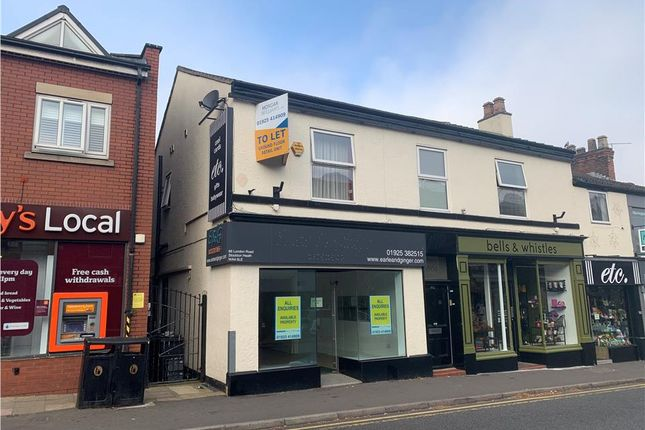 Thumbnail Retail premises to let in 86 London Road, Stockton Heath, Warrington