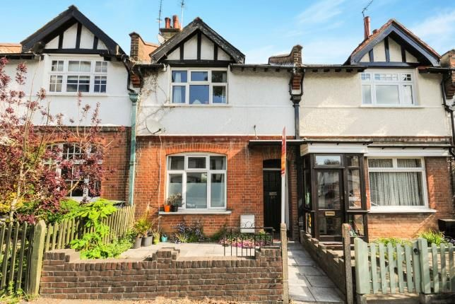 Thumbnail Terraced house for sale in Holtwhites Hill, Enfield