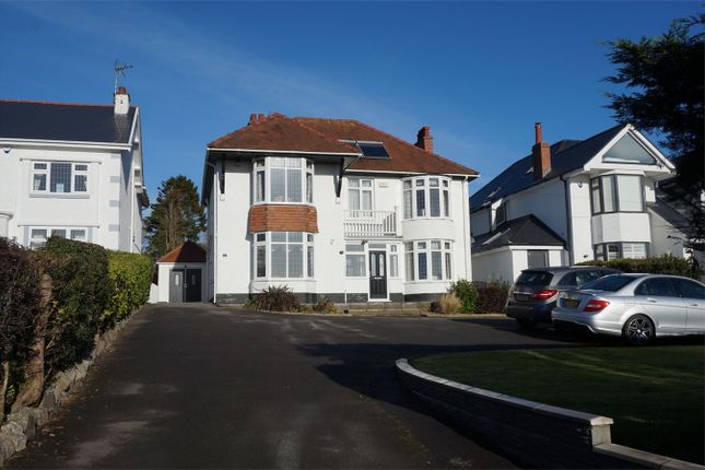 Thumbnail Detached house for sale in Caswell Road, Caswell, Swansea