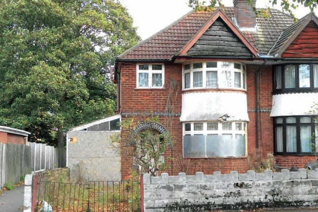 Thumbnail Semi-detached house for sale in School Road, Hall Green, Birmingham, West Midlands