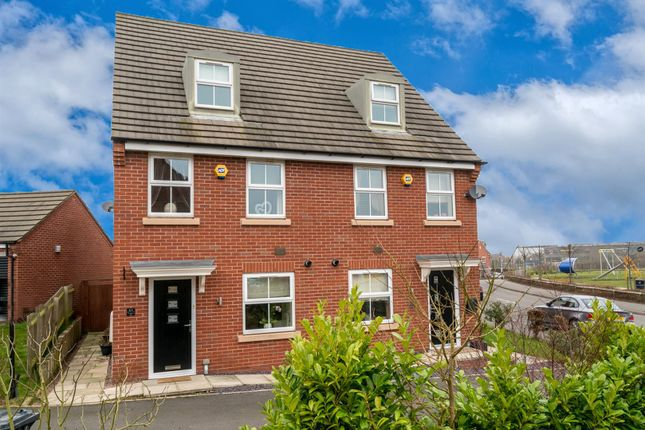 Thumbnail Semi-detached house for sale in Colliers Way, Huntington, Cannock