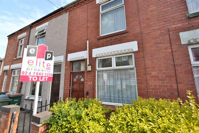 Thumbnail Terraced house for sale in Hastings Road, Stoke, Coventry