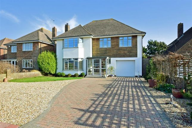 Thumbnail Detached house for sale in Withdean Avenue, Goring-By-Sea, Worthing, West Sussex