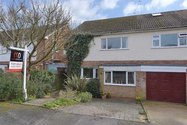 Thumbnail Semi-detached house for sale in Cedar Gardens, Kinver, Stourbridge, Staffordshire