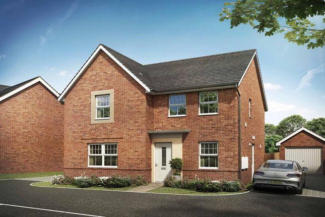 "Thumbnail Detached house for sale in ""Radleigh"" at Briggington, Leighton Buzzard"