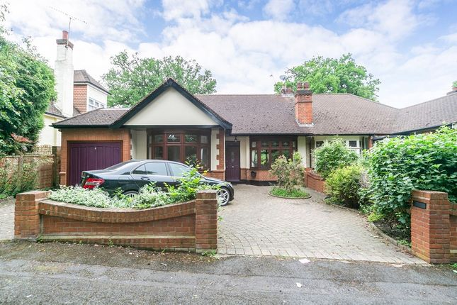 Thumbnail Semi-detached bungalow for sale in Knighton Close, Woodford Green