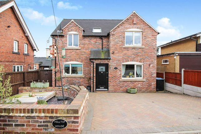 Thumbnail Detached house for sale in Woodside Lane, Leek