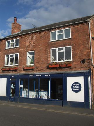 Thumbnail Flat for sale in High Street, Wem, Shropshire