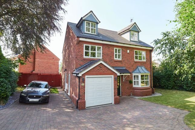 Thumbnail Detached house for sale in Spring Grove, Biddulph, Staffordshire