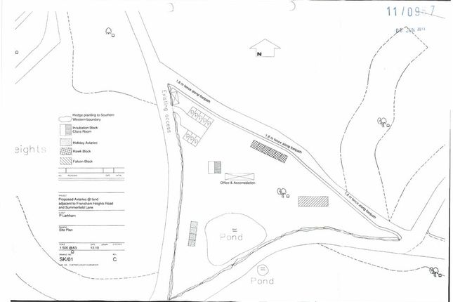 Thumbnail Land for sale in Frensham Heights Road, Corner Of Summerfield Lane, Farnham