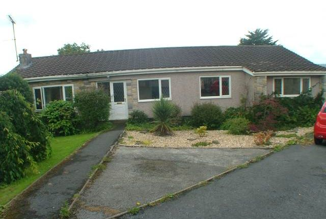 Thumbnail Bungalow to rent in Courtlands Park, Carmarthen
