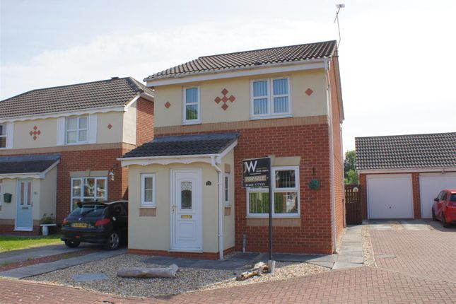 Thumbnail Link-detached house for sale in Bramblefields, Northallerton