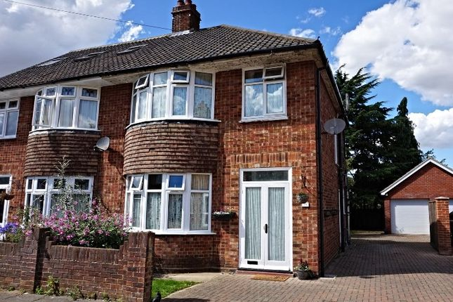 Thumbnail Semi-detached house for sale in Dorset Close, Ipswich
