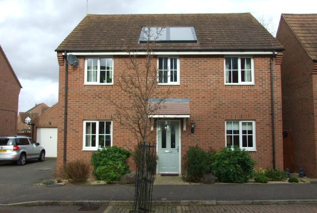 Thumbnail Detached house for sale in Cable Crescent, Woburn Sands