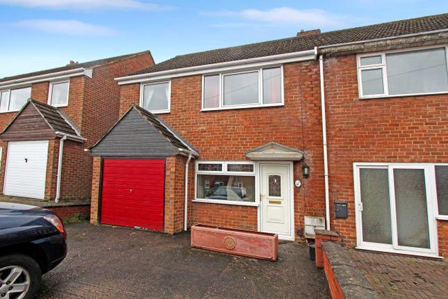 Thumbnail Semi-detached house for sale in Stretton Street, Glascote, Tamworth